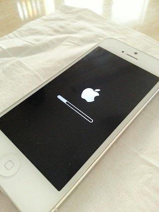 iOS restore