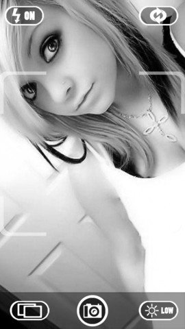 Black + White Camera HD-2