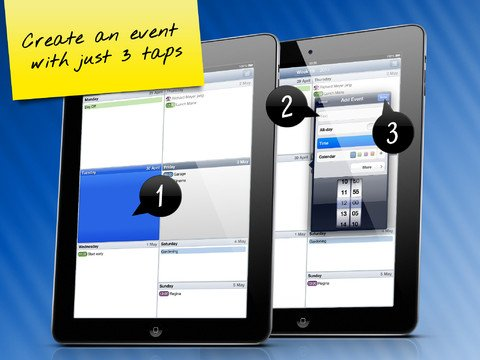 Easy Calendar for iPad-2