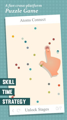 Atoms Connect - Strategy and Skill Puzzle Game (5)