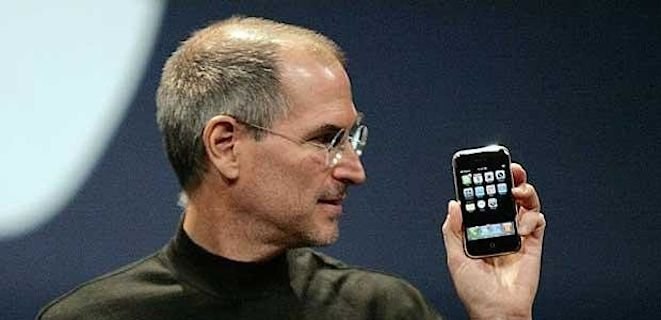 Steve Jobs iPhone 1st Gen