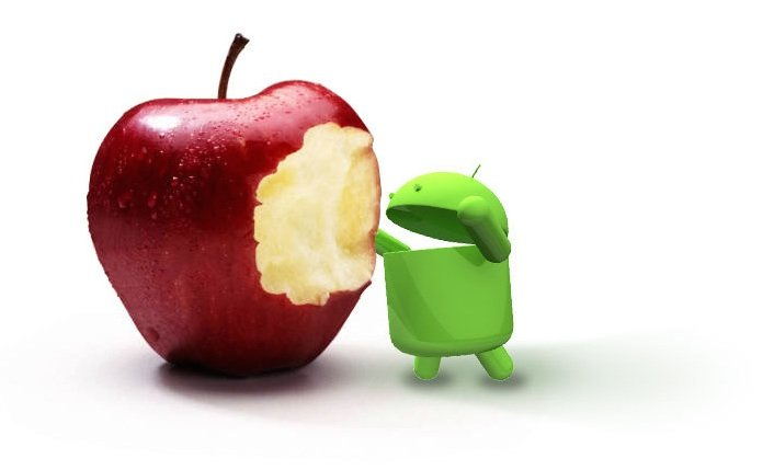 Android Apple iOS Fighting