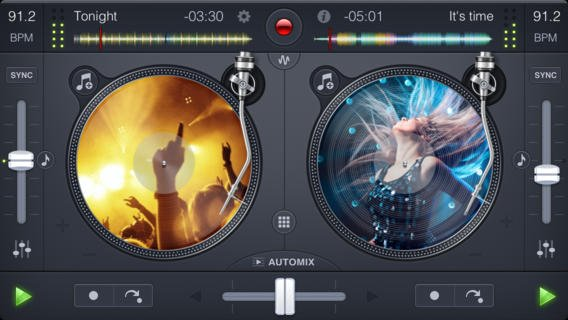 djay 2 for iPhone (2)