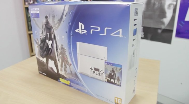 playstation 4 white unboxing-1