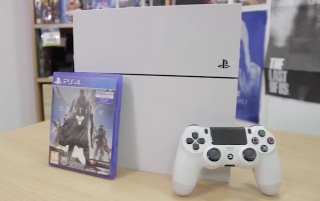 playstation 4 white unboxing-4