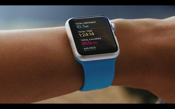 ▲Apple Watch可以記錄用家活動情況,及計算消耗的卡路里。