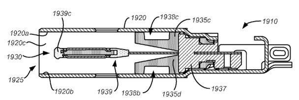 在蘋果有關專利當中可以看到雙面 USB 插頭的舌頭構造。