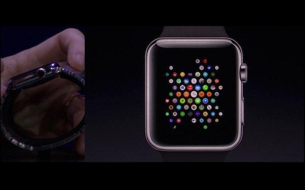 ▲錶冠可以縮放 Apple Watch 介面。