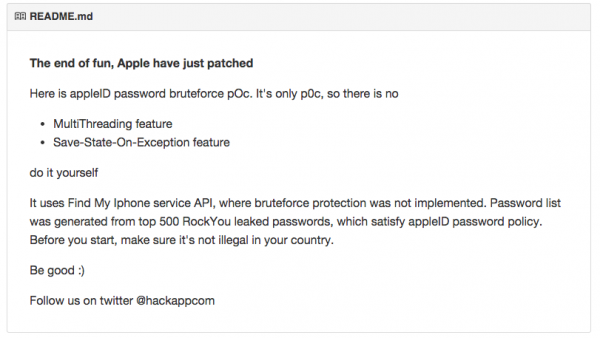 之前曾經傳出過可以繞過帳號保護機制不斷嘗試登入 iTunes 帳號的小工具(已經無效),似乎合乎了受害者密碼過短的假設。蘋果在新聞稿中要求用戶重設密碼以及加入兩步認證。