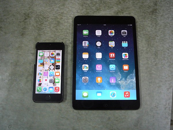 iPhone 5s and iPad Mini