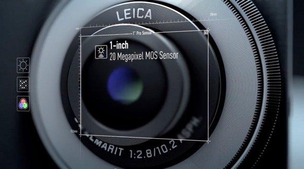 ▲有1吋感光元,以手機而言是最大的。