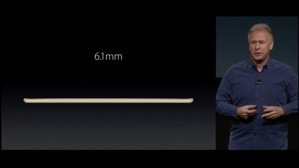 ▲只有 6.1mm,暫時是現時最薄的平板電腦。