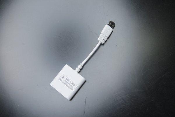 ▲要享受杜比環繞聲效,就要加上這個 USB 聲效處理器。