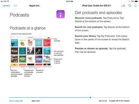 iOS 8.1 iPad - 4