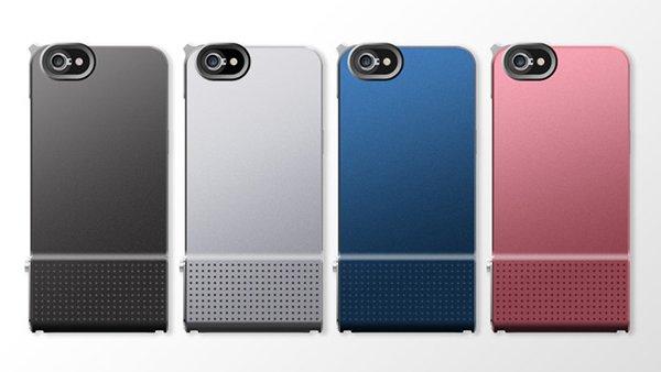 保護殼分四種顏色,黑白藍和粉紅四色適合不同人士選擇。