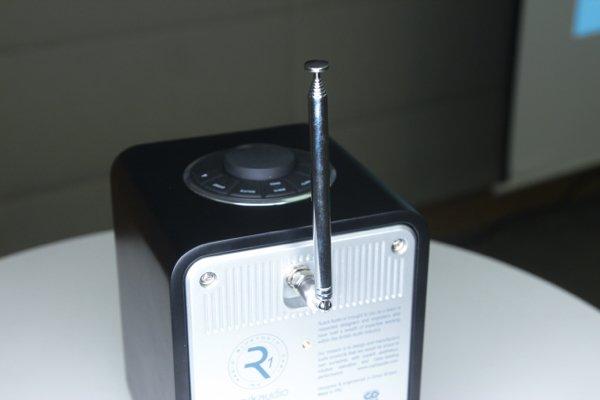 ▲天線用於接收電台廣播。