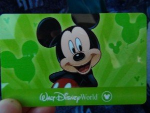 Disney Ticket - Front by Clark Chen