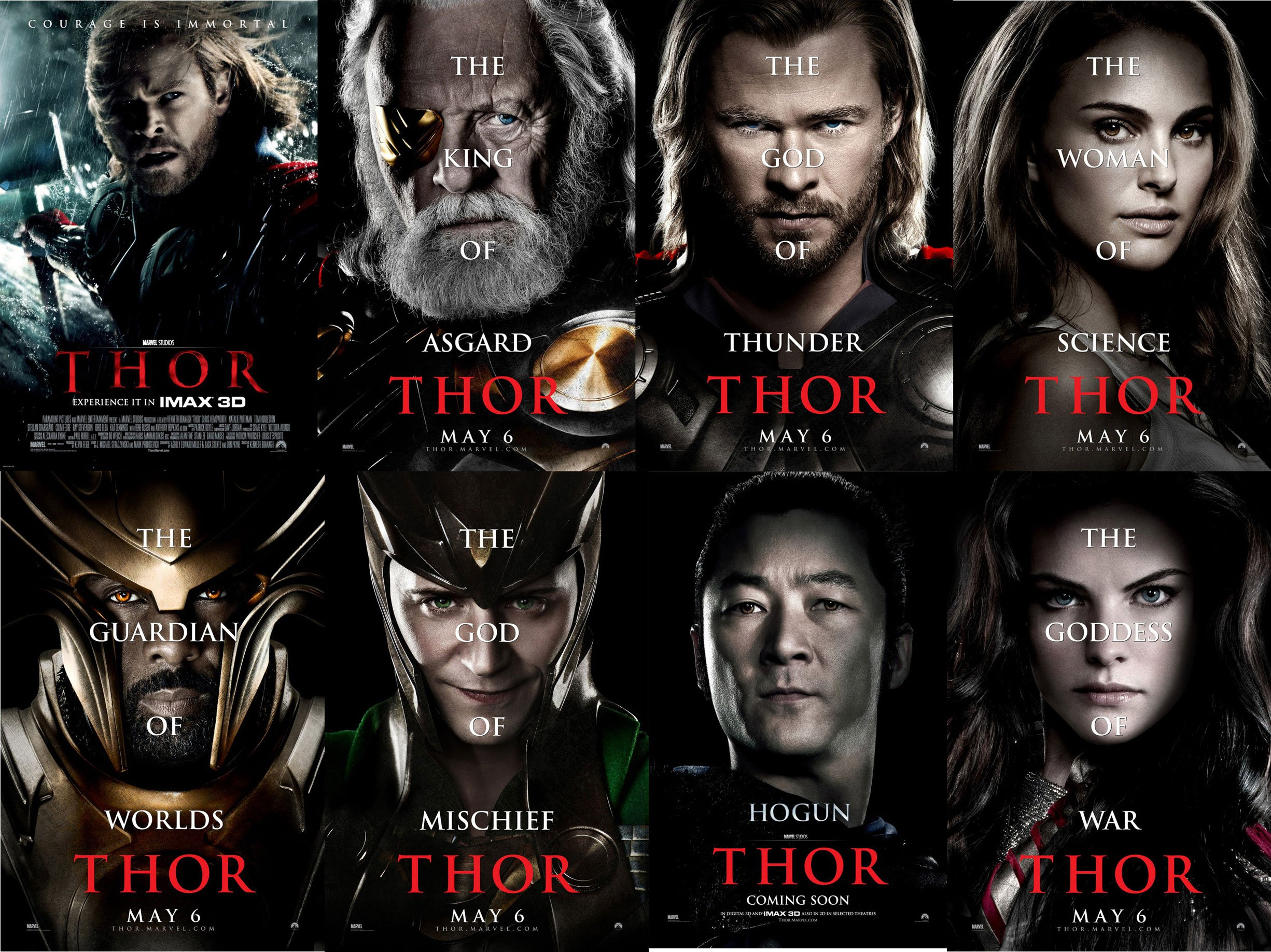 Thor Movie Poster -3