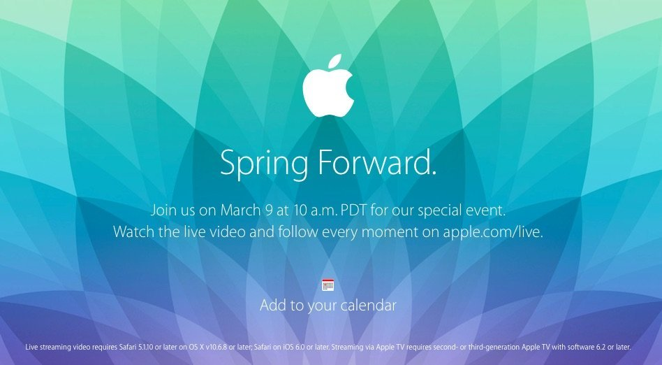 Apple event live 2015