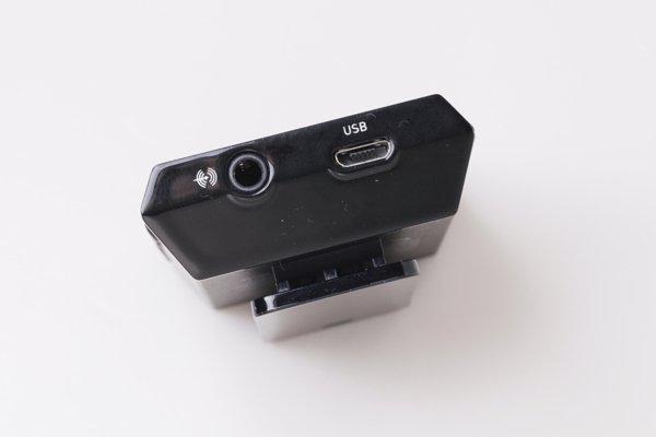 ▲機底是音源輸入,可以用3.5mm或是USB數碼輸入音源。