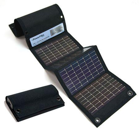 ▲現時的太陽能轉換成電力已經達 17-18%,足夠為低耗的電子器材充電。