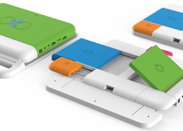 ▲或者是在Google Project Ara 得到靈感而設計出 Xo Infinity。