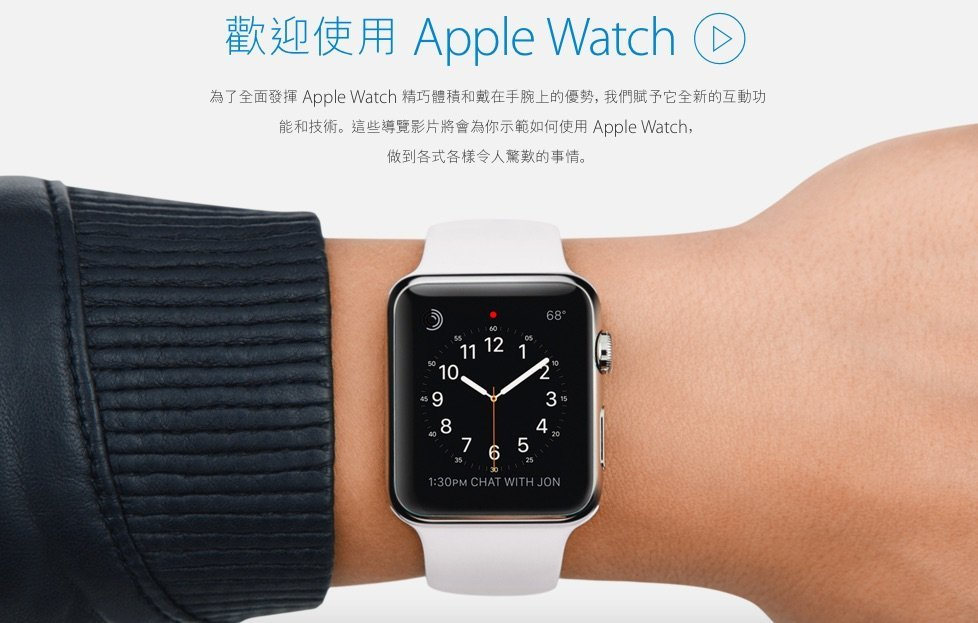 Apple Watch welcome