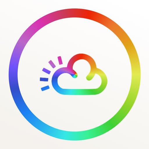 rainbow-weather-widget-icon