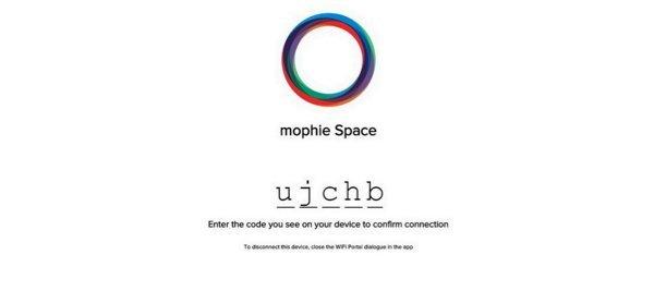 ▲在電腦瀏覽器上輸入 App 上顯示的登入碼就可以。