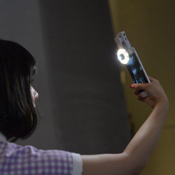 selfie round light - 6