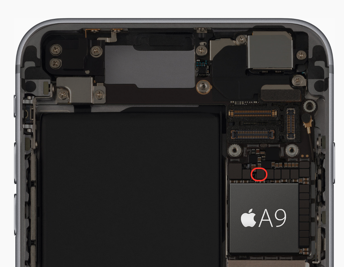 iPhone 6s Display chip