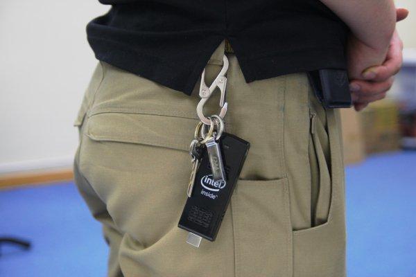 ▲加上鑰匙扣就可隨身攜帶。
