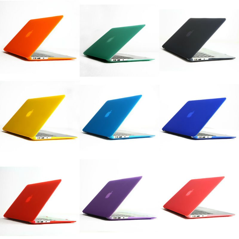 11-Color-Matt-Rubberized-Hard-Case-Cover-For-Apple-Macbook-Air-13-inch-Free-Shipping