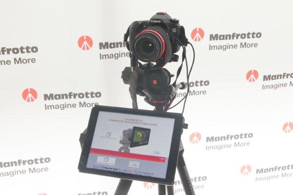 ▲早前介紹過Manfrotto Digital Director 可以讓用家實時看到攝錄畫面