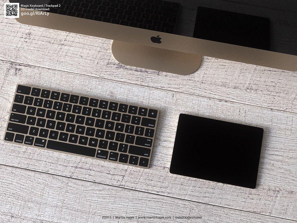 Magic Trackpad keyboard-3