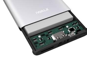 ▲設有智能晶片電路,可提升充電轉化率、穩定放電電壓,令充電更安全。
