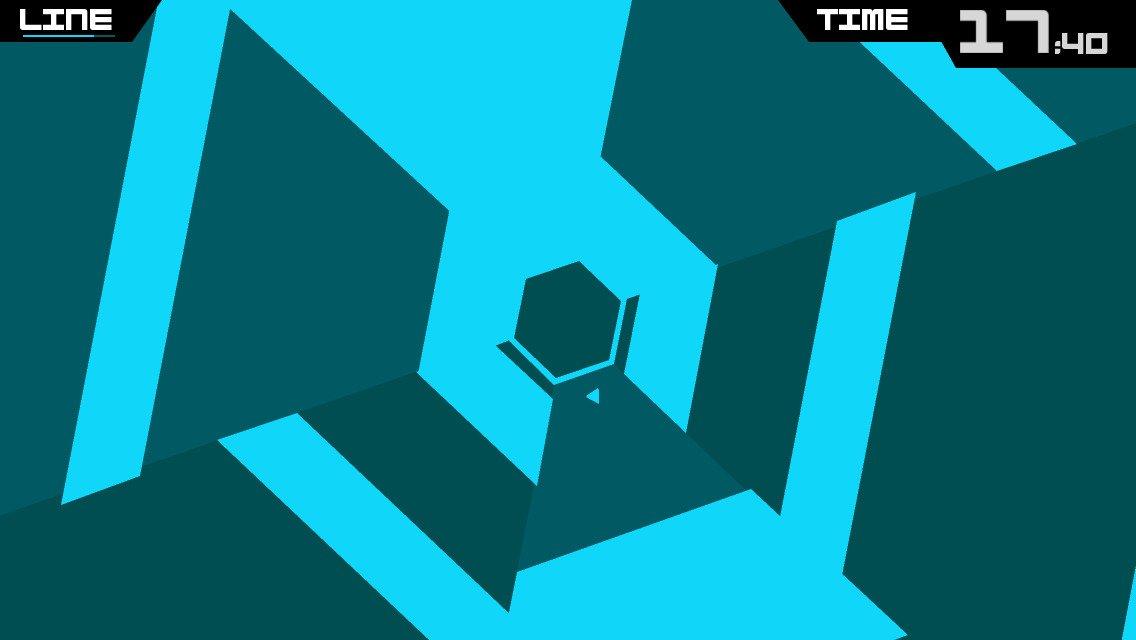 hexagon terry cavanagh games - 1136×640