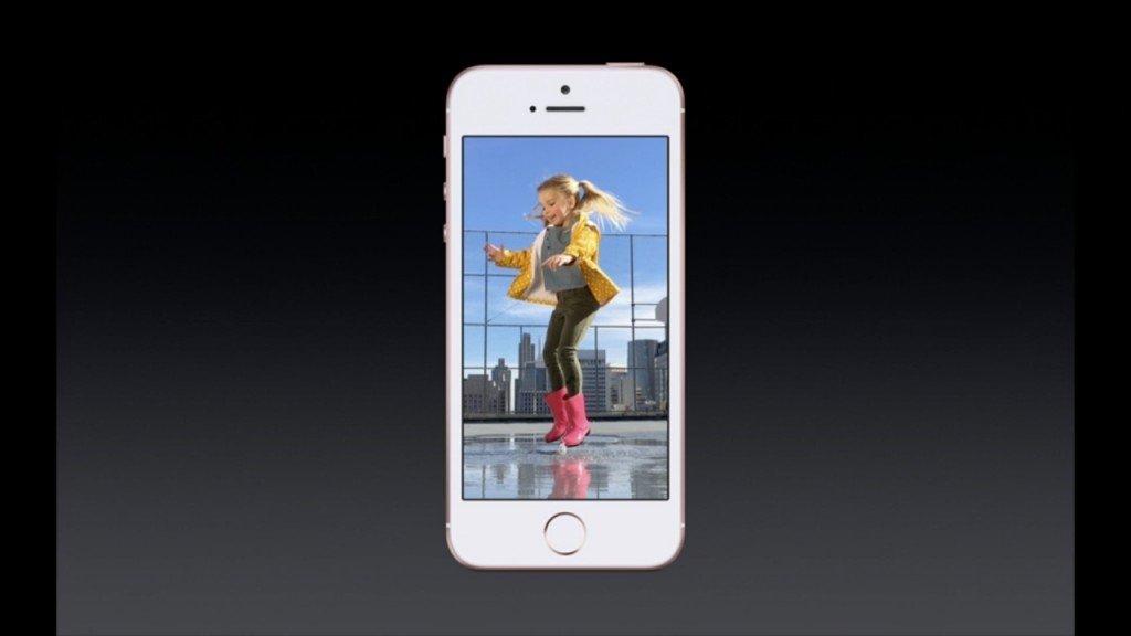 ▲由於有 A9 處理器,令 iPhone SE 有 Live Photo 拍攝功能