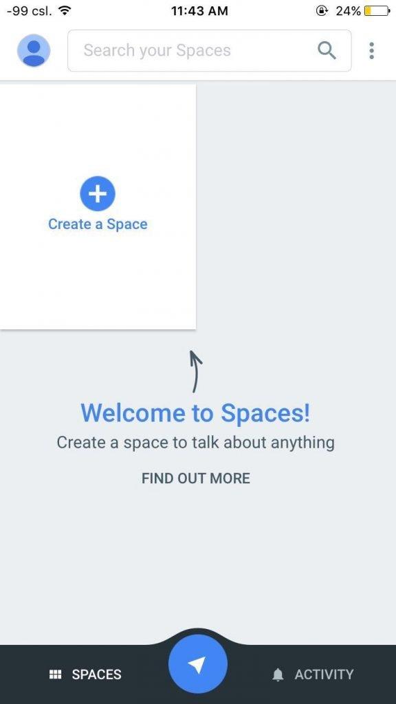 Google Spaces 1