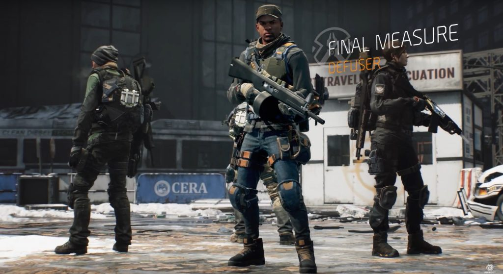 The Division Conflict 4