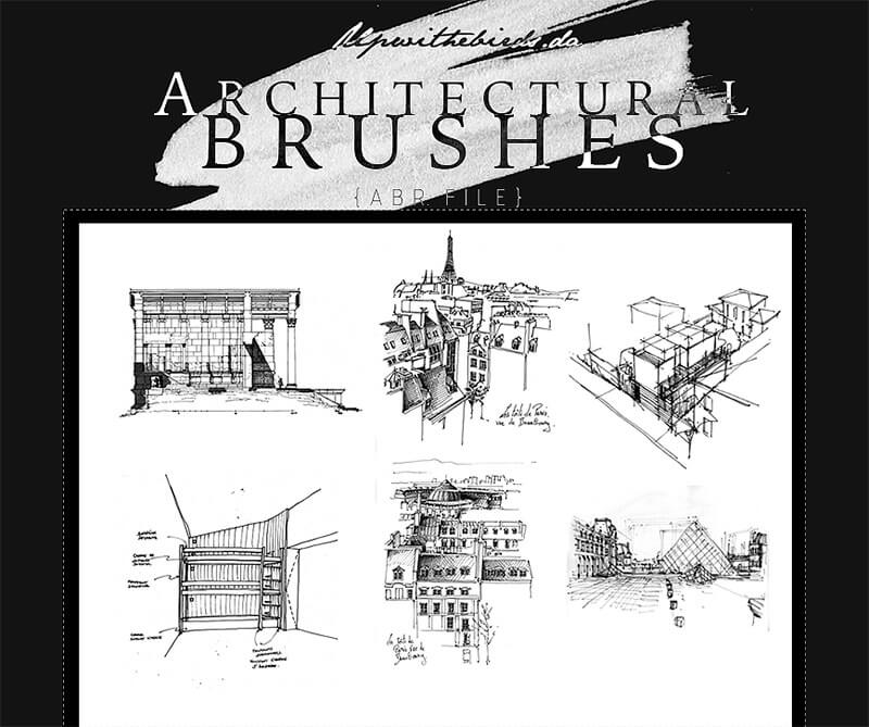 architecture-brushes