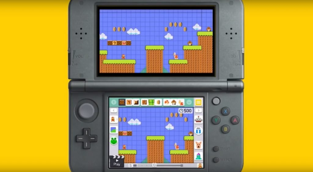 super mario maker 3ds