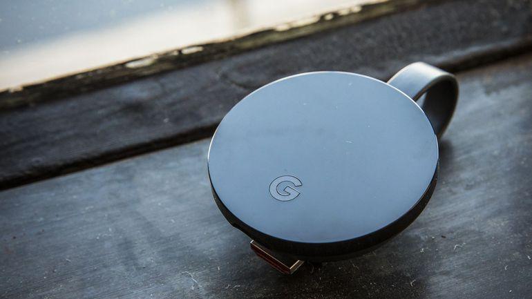 支援 4K!速度提升 80%!最強電視棒 Chromecast Ultra!