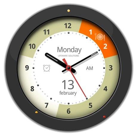 超級鬧鐘時鐘裝置-帶有鬧鐘和日曆功能的時鐘
